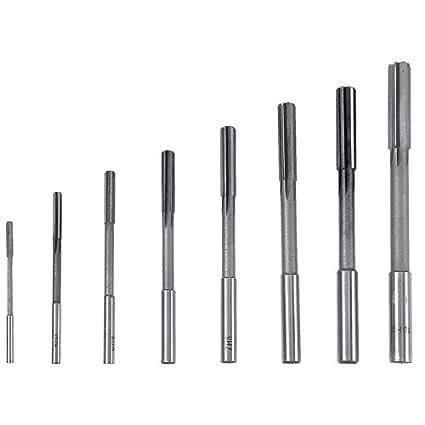 3-12mm HSS straight shank chucking reamer machine reamer milling cutter toolB1