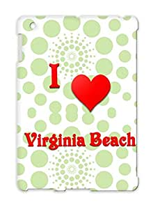 I Love Virginia Beach 21 Virginia Beach Love Hearts Heart Red For Ipad 3 Cover Case
