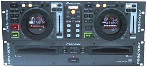 Professional Dj Dual Cd Player (Pioneer CMX-3000 Professional Rack-Mount Dual CD Player)