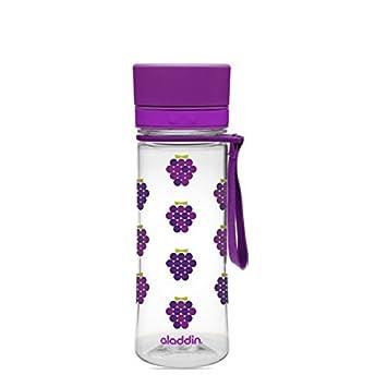 Aladdin Aveo - Botella de agua para niños, color Morado, capacidad ...
