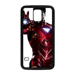 Samsung Galaxy S5 Cell Phone Case Black The Iron Man I0469822