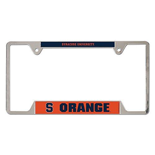 Syracuse University Orangemen (NCAA Syracuse University Metal License Plate Frame)