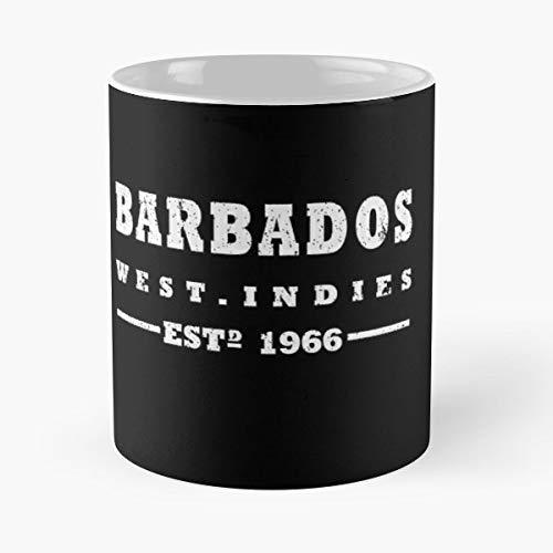 Barbados West Indies Bajan - Coffee Mugs Ceramic ()