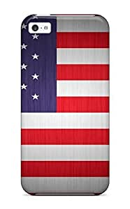 Fashion HgdqsYK9233LHDEG For HTC One M7 Case Cover (flag Of Usa)
