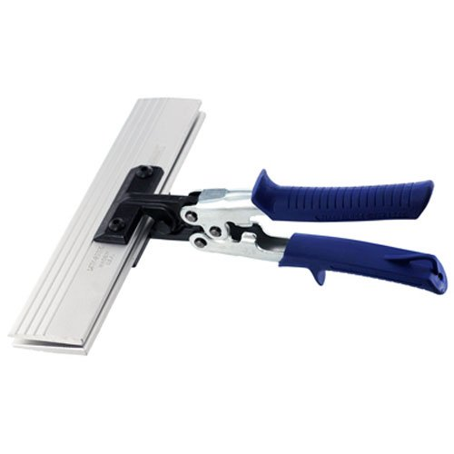 MIDWEST Seamer - 9 Inch Straight Sheet Metal Bender with Aluminum Blades & KUSH'N-POWER Comfort Grip Handle - MWT-S9