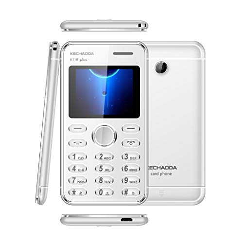 MChoice❤️KECHAODA K116plus 1.8 Inch MTK6261DA 32MB+32MB Dual SIM Smartphone Cellphone (Silver) ()