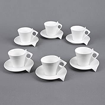 prix compétitif 27632 abd67 TABLE PASSION APD3044091 Tasse, Porcelaine, Multicolore, 34 ...
