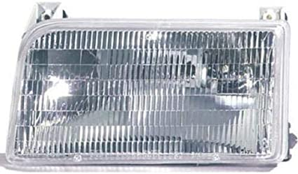 Left Driver Side Headlight Door For 1992-1996 Ford F150 1995 1994 1993 H613ZC