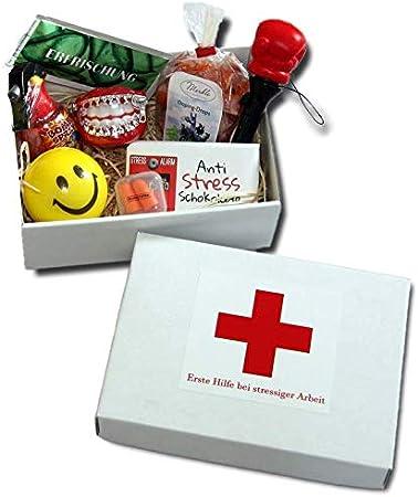 Caja de regalo para primeros auxilios en el trabajo estresante - divertidos regalos para la oficina - Divertido regalo para compañeros de trabajo - Antiestrés