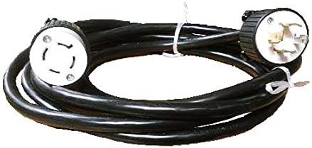 20 Amps Duropower Generator Power Cord L14-20 Extension Cord DPL1421-10 Foot 125//250V