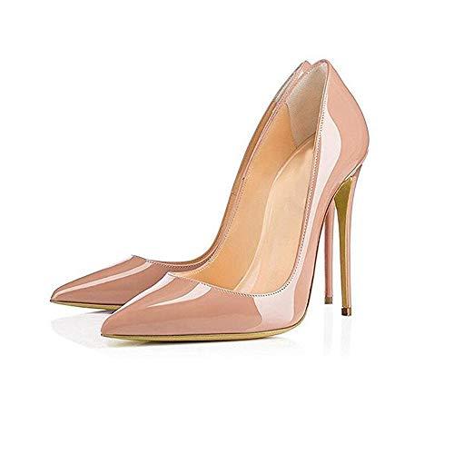 Frauen Schuhe 12 Stiletto Spitz Heels Pumps Heels Party Frau Schwarz Nude Frauen Schuhe LIANGHUA Sexy Frauen Schuhe cm Schuhe High Für xCqwFvBvnR