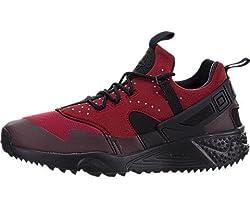 Nike Mens Air Huarache Utility Gym Redblack Running Shoe 10 Men Us