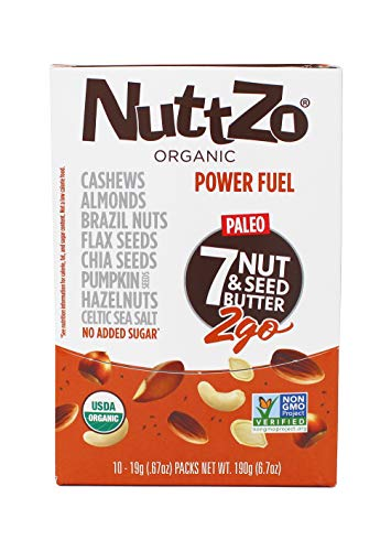 NuttZo Smooth Organic Power Fuel, 6.7 Ounce (Pack of - Crunchy Wild
