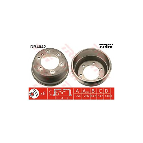 TRW DB4042 Brake Drums: