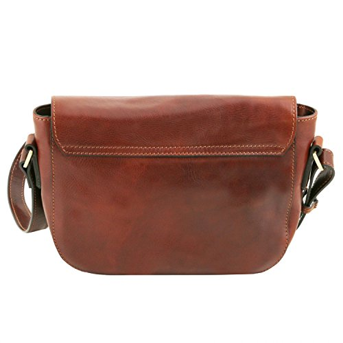 Tuscany Leather Rachele Borsa a tracolla in pelle Rosso Rosso