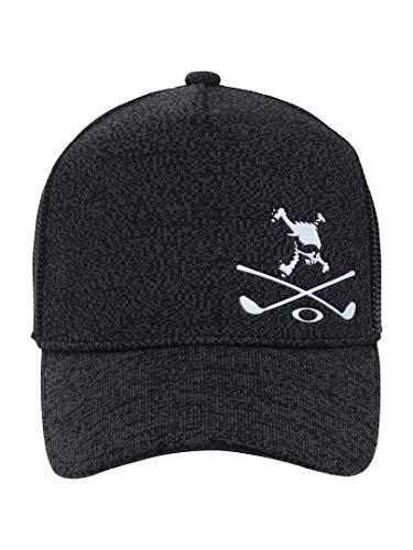 オークリー Skull 帽子 スカル ヘザー キャップ ブラックアウト フリー