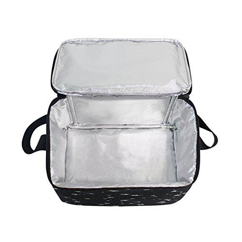 fourre Box Nique Lunch Homme Espace Tout déjeuner Femme Sac d'école Use7 Sac Univers Noir Enfants Isotherme étoile à pour Pique Cooler nbsp;Constellation vqc6SwF