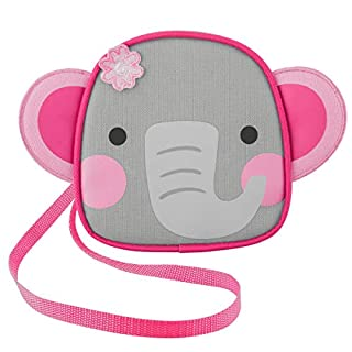 Stephen Joseph Girls' Little Crossbody Purse, Elephant, Size