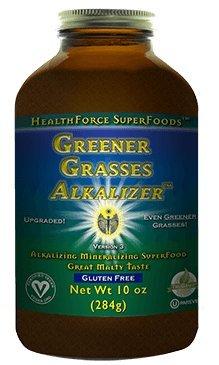 Healthforce Greener Grasses, Powder, - Greener Leaf