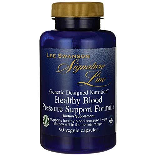 - Swanson Healthy Blood Pressure Support Formula 90 Veg Capsules