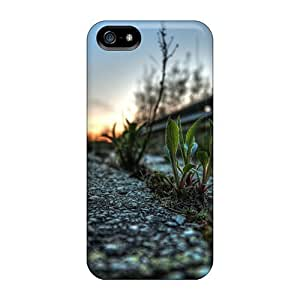 Cute Appearance Cover/tpu Road Sprout Nature Case For Iphone 5/5s by ruishername