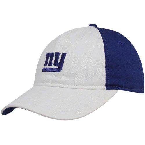 NFL Women's Fan Gear Team Color Slouch Adjustable Hat - EQ57W, New York Giants, One Size Fits All