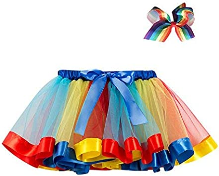 Saingace Tutu - Minifalda de Tul para niña, tutú, Fiesta, Danza ...