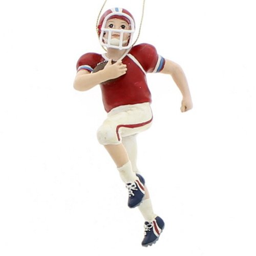 (Kurt Adler 5-Inch Football Boy Christmas Ornament)