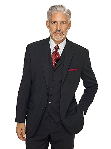 Notch Lapel Wool Suit - 8