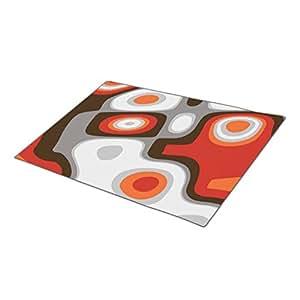 QuiQ Monogrammed Door Mat Custom Blank One size