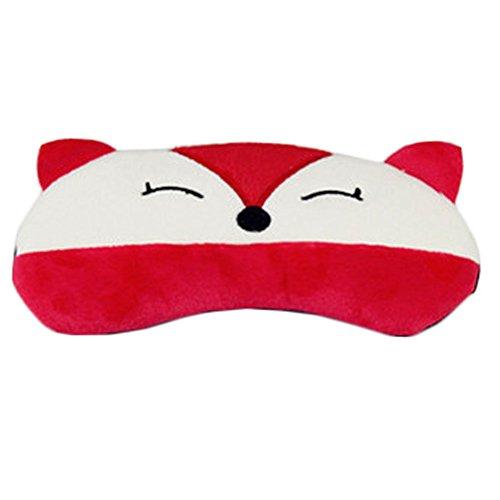 dolly2u Monster Contoured & Comfortable Sleep Mask Eye-shade Aid-sleeping Red