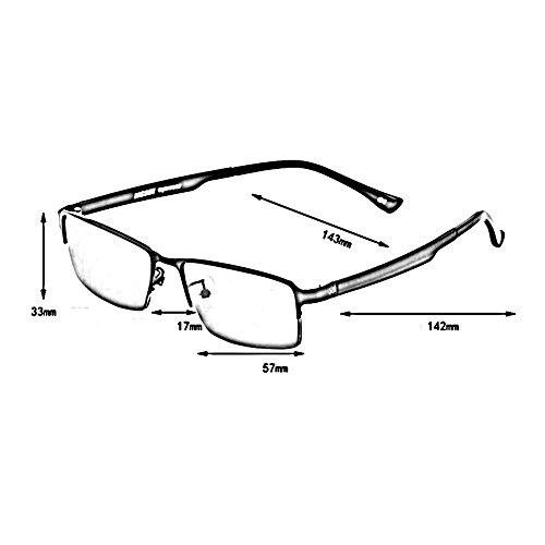UV De 2 De 0 Miopía Color Intensidad 4 Marco Conductor Deslumbramiento 0 Mujer Retro Anti Hombre Ligero Medio 1 Gafas 1 Gafas ZX TR90 Las ~ wfnqOYap
