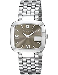 G-Gucci Stainless Steel Womens Watch(Model:YA125410)