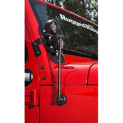 Antenna, Reflex, 13 inch; 07-19 Jeep Wrangler/Gladiator: Automotive