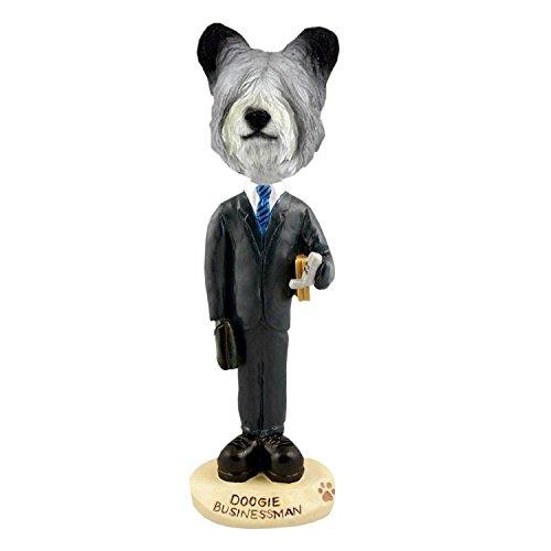 (Skye Terrier Businessman Doogie Collectible Figurine)