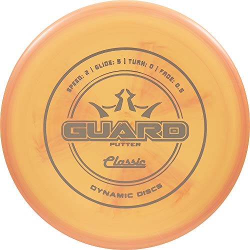 Frisbee Classic (Dynamic Discs Classic Line Guard Putter Golf Disc [Colors May Vary] - 173-176g)