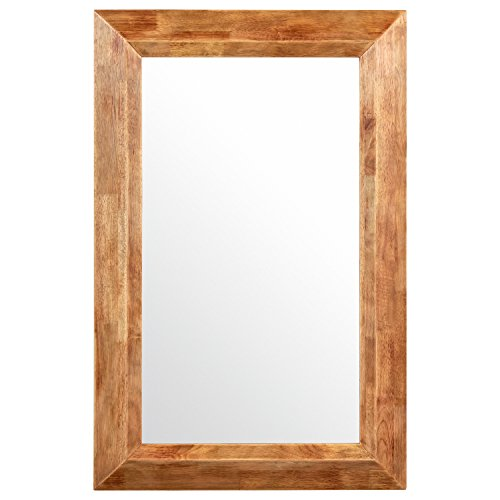 - Stone & Beam Rustic Wood Frame Mirror, 39.75