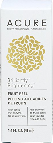 Acure Brilliantly Brightening Fruit Peel, 1.4 Fluid Ounce (Packaging May Vary)