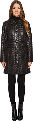 Quilted Button Front Jacket - 3