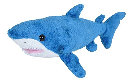 Wild Republic Mako Shark Plush, Stuffed Animal, Plush Toy, Gifts for Kids, Sea Critters 11 ()