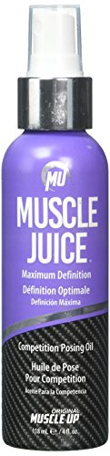 Muscle Juice Competition Posing Oil, Maximum Definition, 4 fl oz (118.5 ml) by Pro Tan