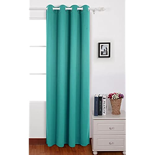 turquoise bedroom decor. Deconovo Solid Thermal Insulated Grommet Blackout Curtain Panel Window  for Bedroom 52x84 Inch Turquoise Decor Amazon com