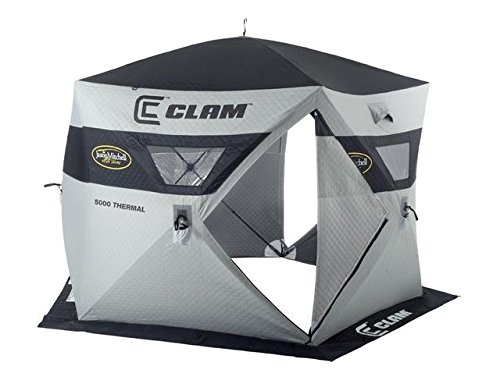 Clam Outdoors Jason Mitchell Thermal 5000 Ice Shelter