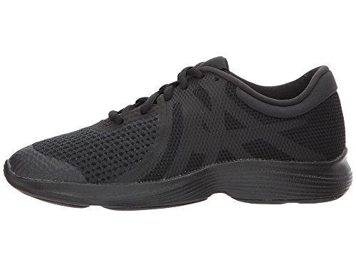 Nike Boy's Revolution 4 (GS) Running Shoes (6.5 M US Big Kid, Black/Black) by NIKE