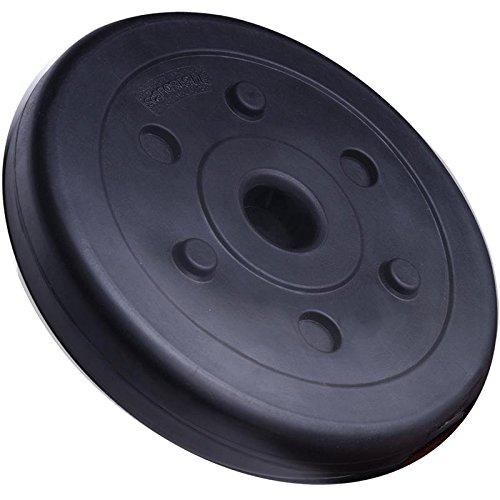 ScSPORTS Set dhalt/ères en Plastique 45 kg avec 1x Barre pour halt/ère Long 1x SZ Barre dhalt/ère curl et 2X halt/ères Courts avec Filetage Set combin/é incluant 12 Poids disques dhalt/ère