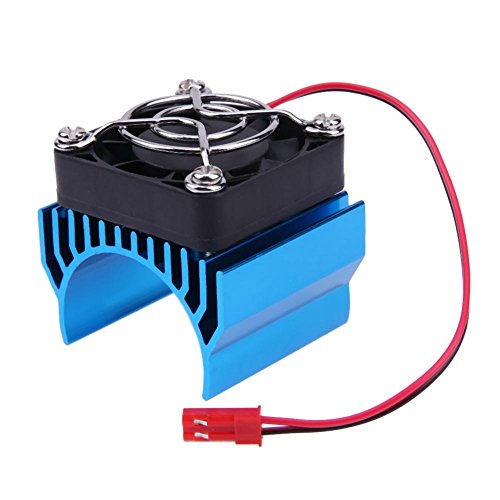 Chinatera Electric Parts Motor Heat Sink Cover + Cooling Fan for 1:10 RC Crawler by Chinatera