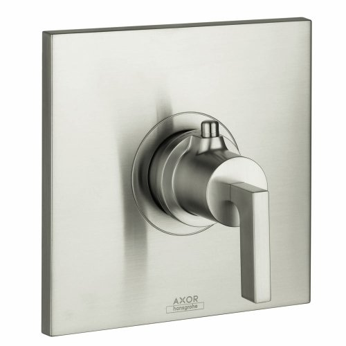 Hansgrohe 39711821 Axor Citterio Thermostatic Trim with Lever Handle, Brushed Nickel Hansgrohe