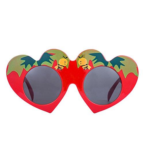 Abejas de Rotyr Funny Forma Gafas Props de nbsp;Ojos del Sol Spoof Baile Divertidos Corazón Sol Fiesta Divertidas Fiesta Fiesta Amor Creativo Gafas de Xrqdnq6