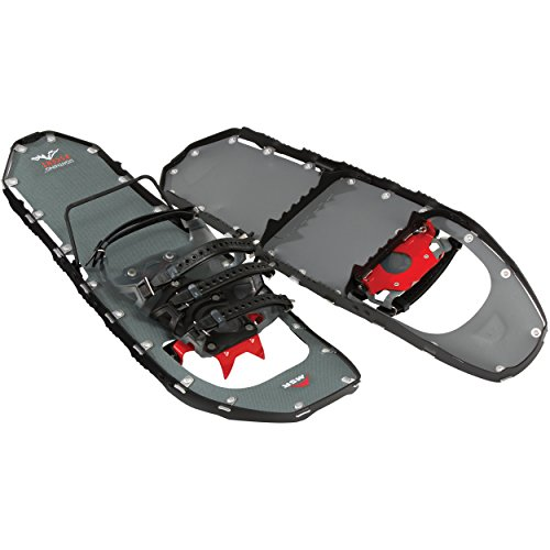 (MSR Lightning Ascent Backcountry & Mountaineering Snowshoes, 25-Inch Pair, Black)