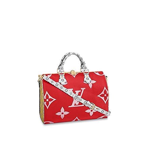 (Louis Vuitton Giant Monogram Speedy Bandouliere 30 M44573 Rouge )